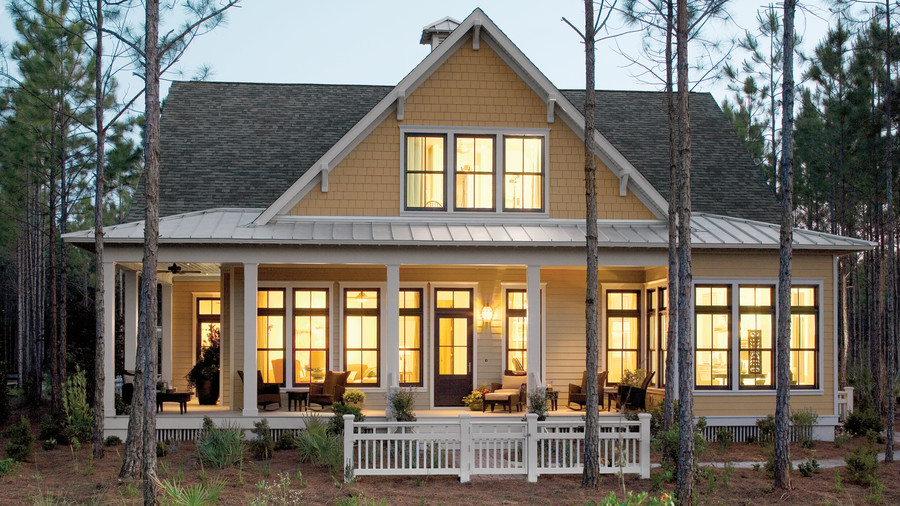 Southern house plans southern living for Bayou cottage house plan