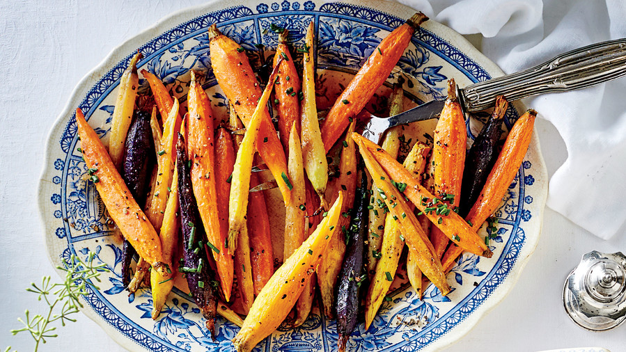 Hanukkah side dishes thatll get you through all eight days honey glazed spiced carrots forumfinder Choice Image