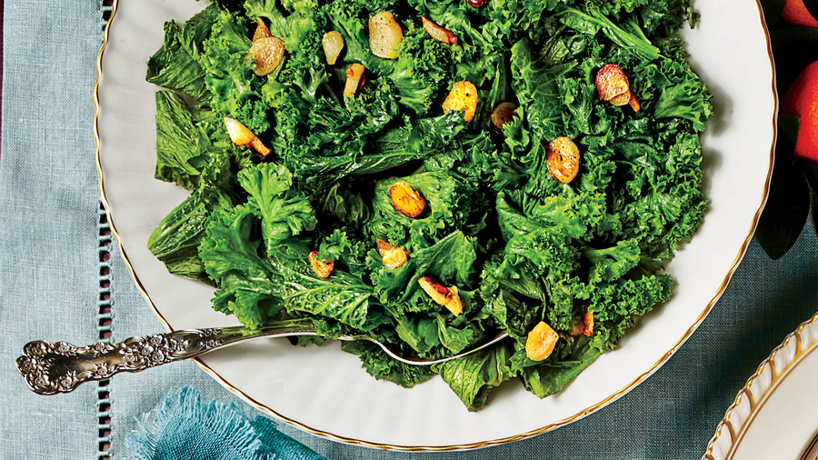 Sautéed Mustard Greens with Garlic and Lemon