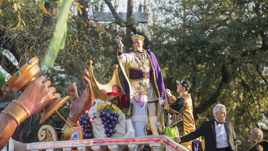 18. Mardi Gras in New Orleans
