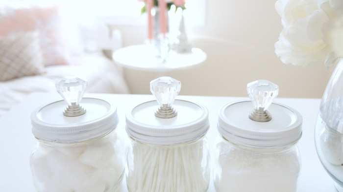 Glam Mason Storage Jars