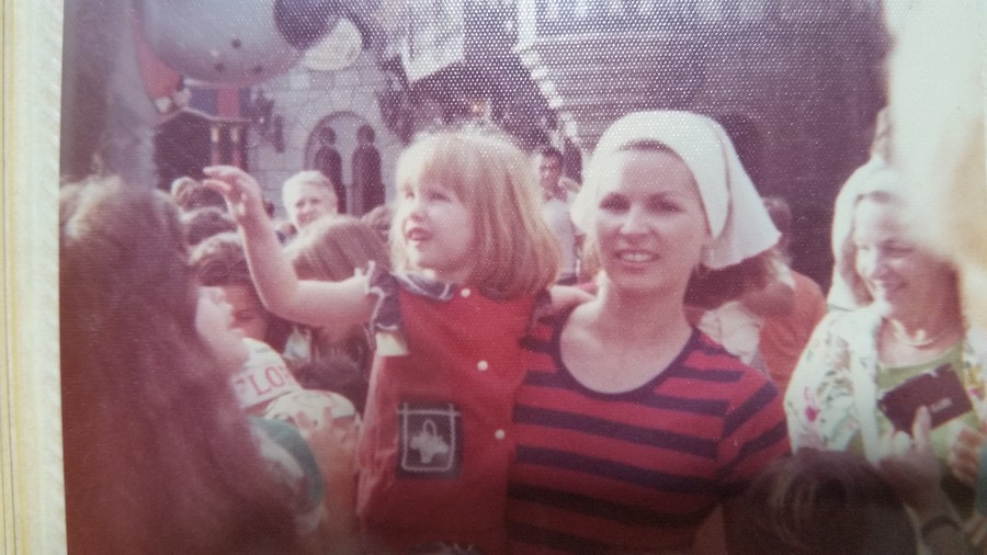 A 1970's Disney Vacation with Mom