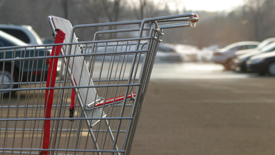 Empty Grocery Cart