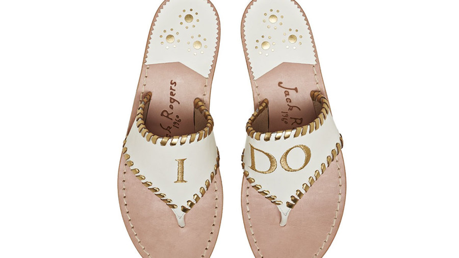 Exclusive I Do Sandals