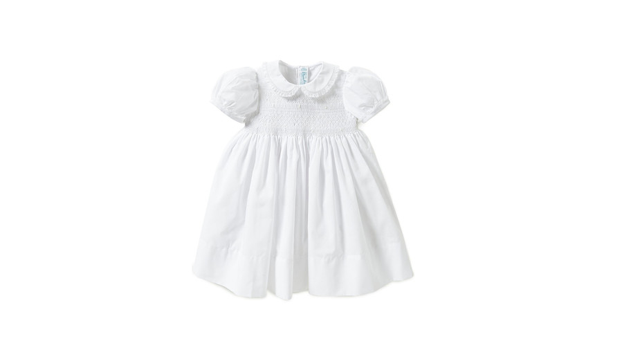 Feltman Brothers Smocked Lace-Detailed Dress