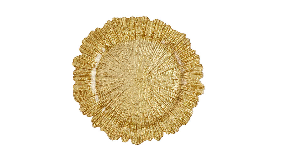 Charger Plate in Gold