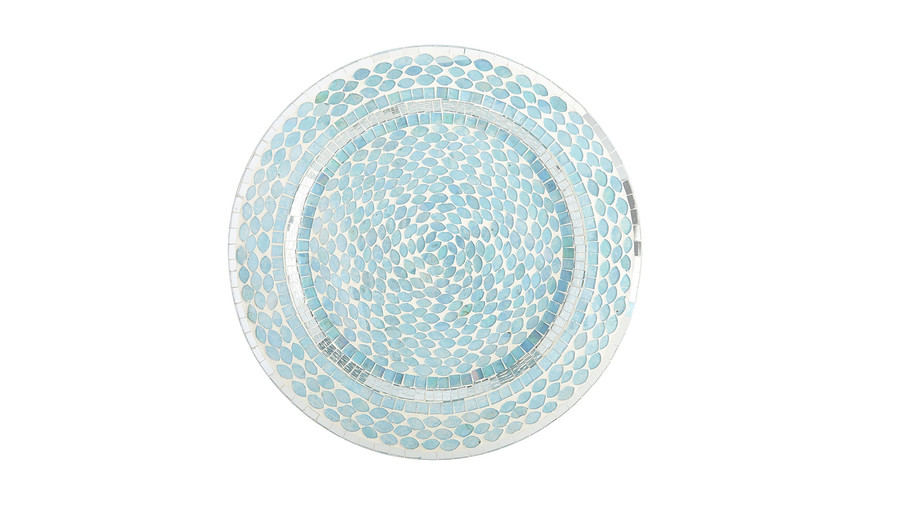 Ocean Mosaic Charger Plate