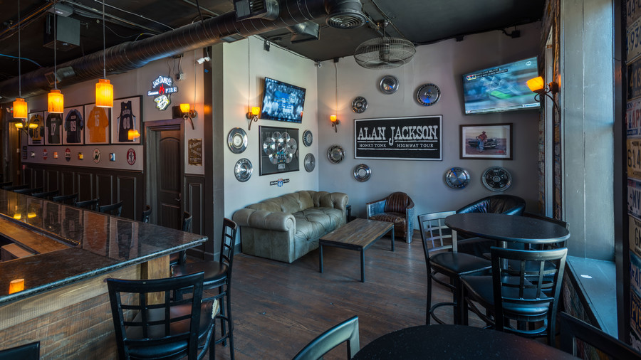 GT Bar Seating Alan Jackson New Bar