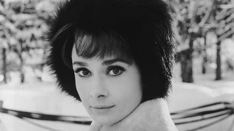 Audrey Hepburn's Defined Eyelashes