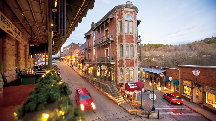 The Best Small Towns For Christmas In The South Southern