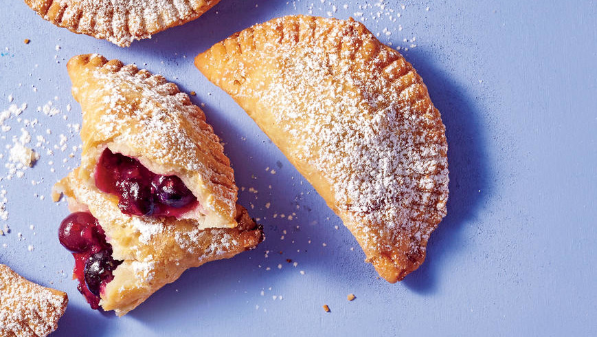 Fried Blueberry-Ginger Hand Pies Recipe