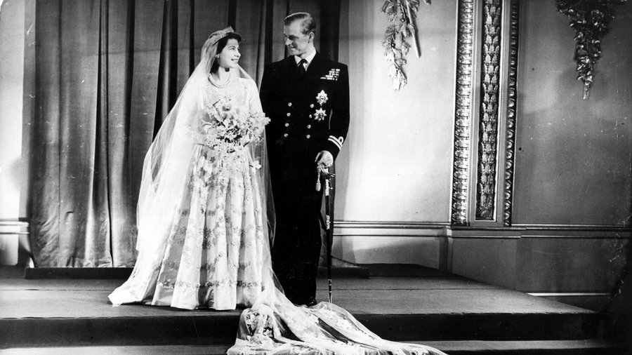 Princess Elizabeth and Philip Mountbatten, Duke of Edinburgh