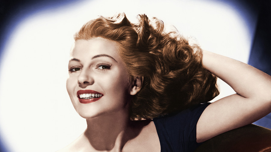Rita Hayworth Portrait