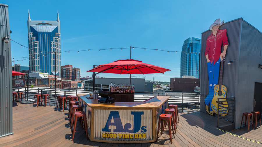 Rooftop Alan Jackson New Bar
