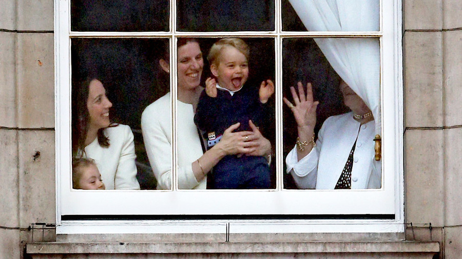 Our Prince Charming! 15 Adorable Photos of George Silly Face