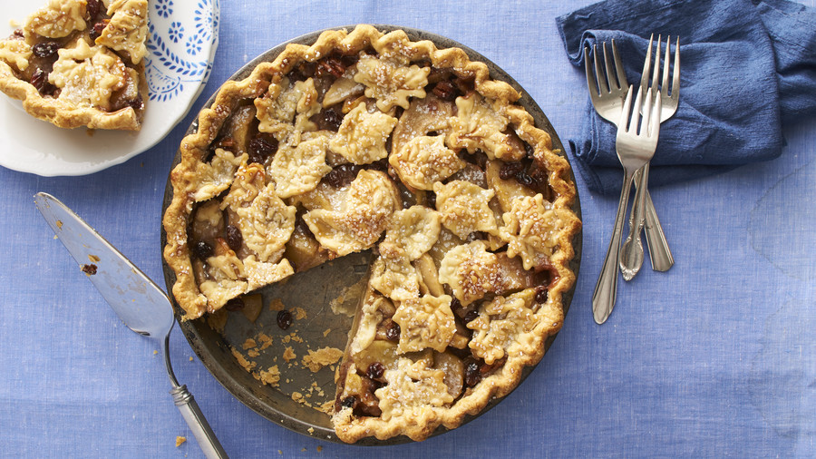 Apple-Bourbon Pie