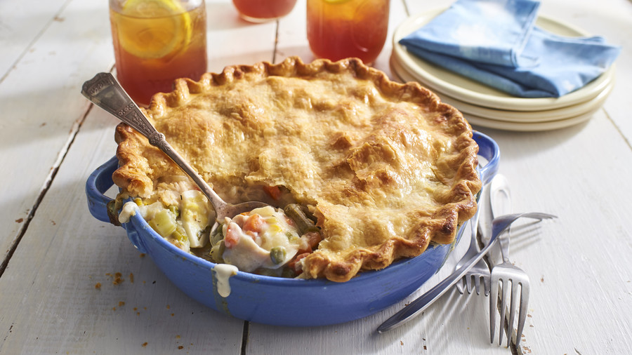 old fashioned chicken pot pie recipe - Southern Christmas Dinner Menu Ideas