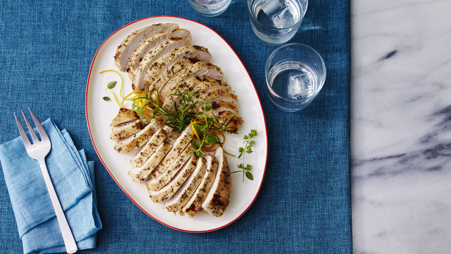 Citrus-Marinated Turkey Breast