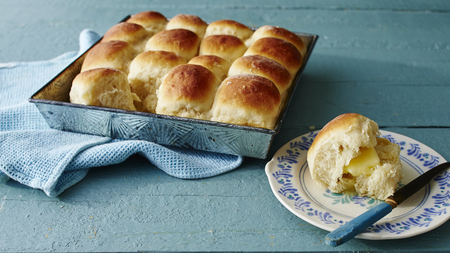 Make-Ahead Yeast Rolls