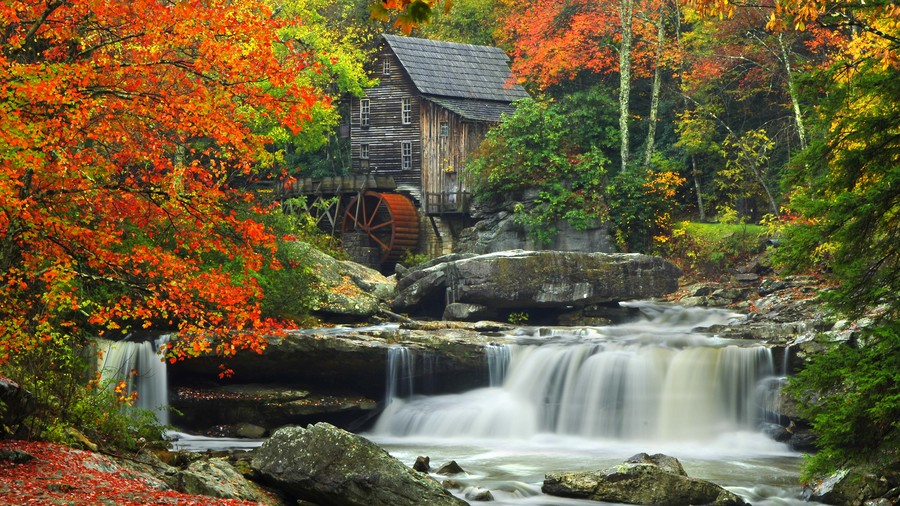 West Virginia: Babcock State Park in Fayette County