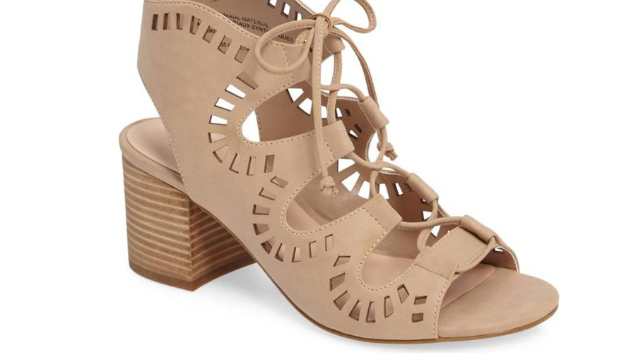 Decker Lace-Up Sandal