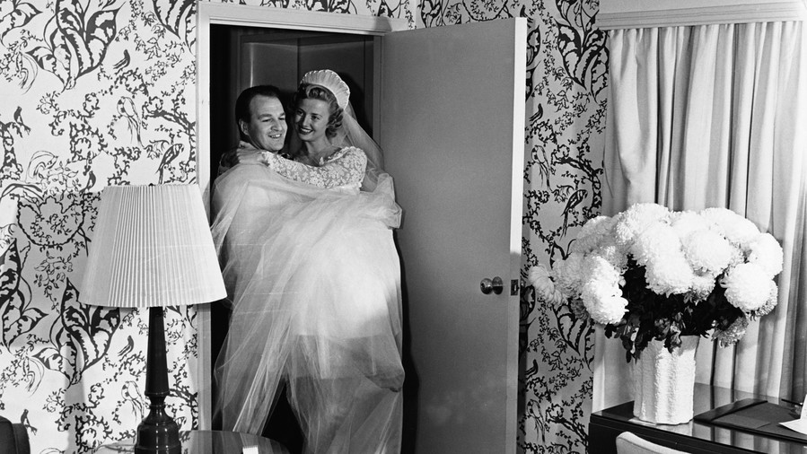 The Origin of Carrying the Bride Across the Threshold