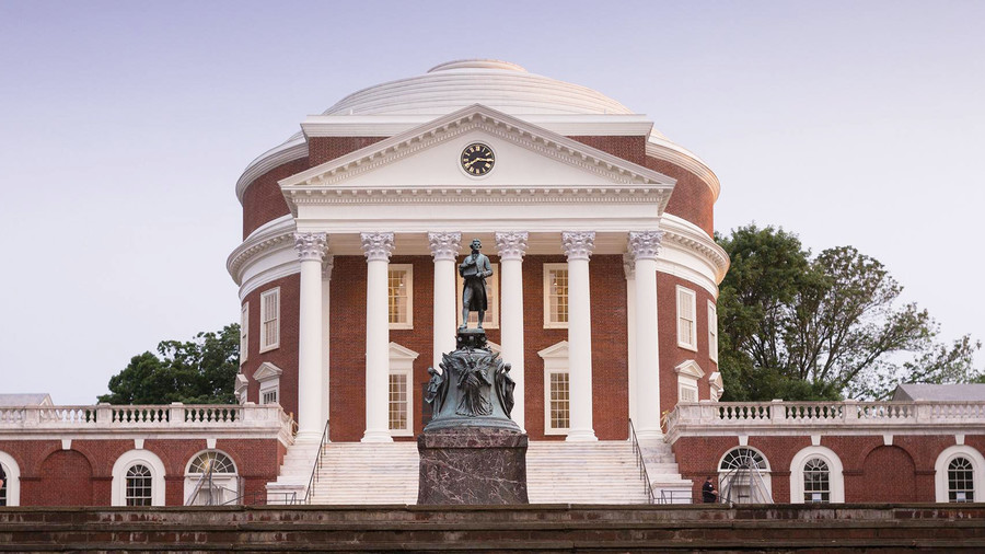 RX_1709_South's Most Beautiful College Campuses_University of Virginia