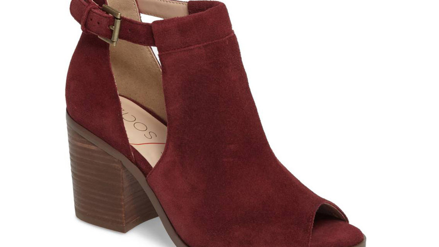 Sole Society Ferris Open Toe Bootie