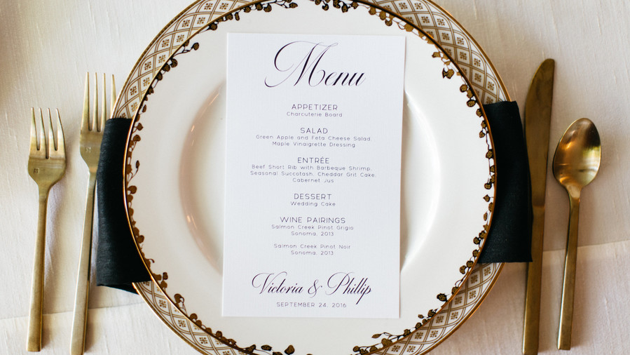 Formal Place Settings and First-Class Fare