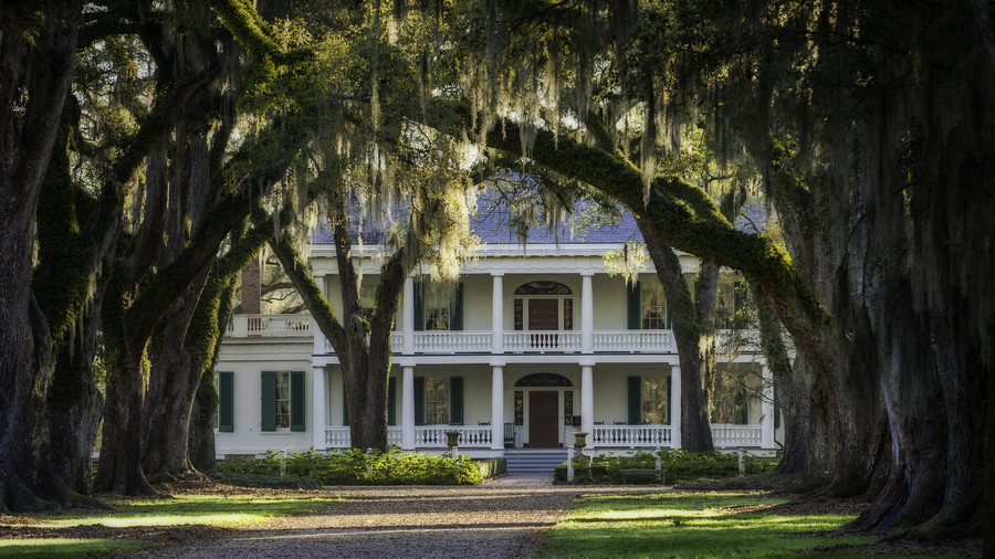 Louisiana: Rosedown Plantation in St. Francisville