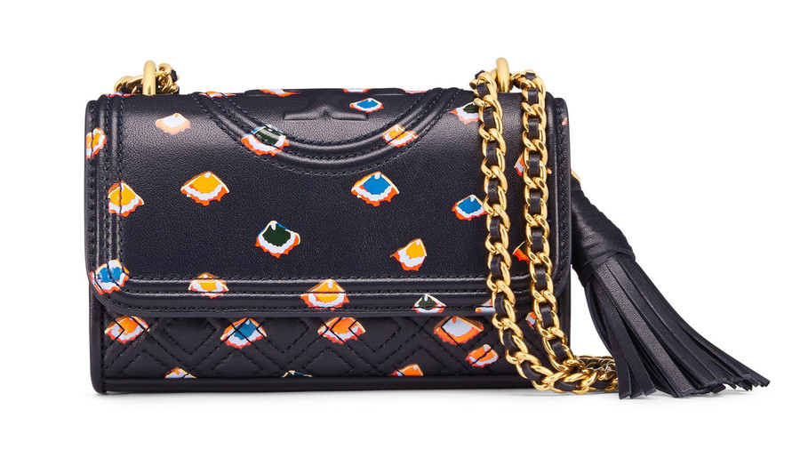 This standout number is worth the splurge, thanks to its soft quilting, colorful print, and spirited tassel.