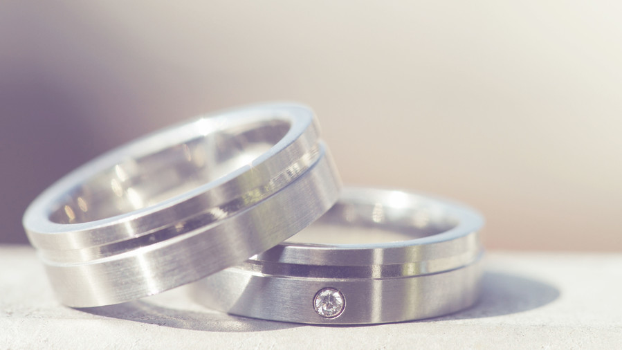 Common Wedding TraditionsAnd The Shocking History Behind Them - These wedding ring photos reflect the happily married newlyweds they belong to