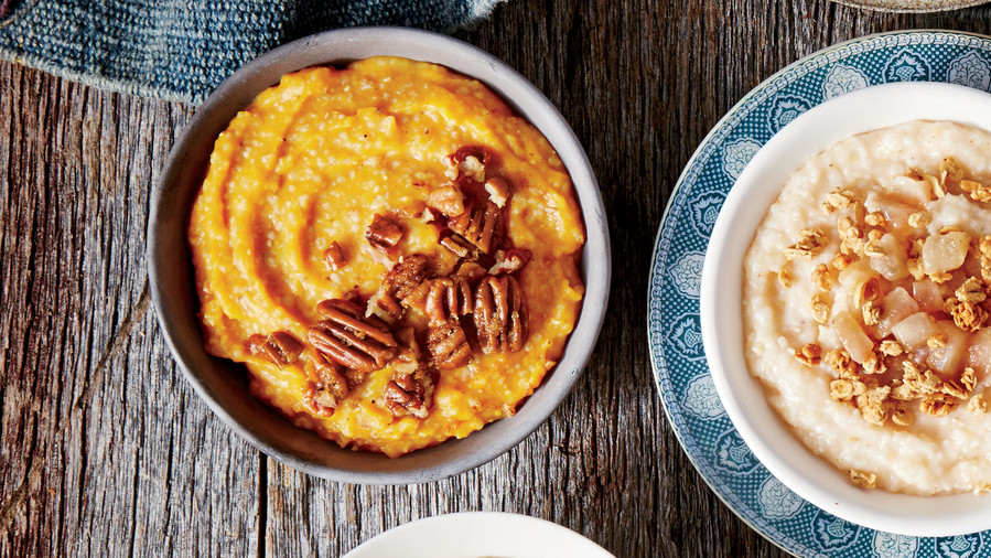 Spiced Pumpkin Grits Recipe