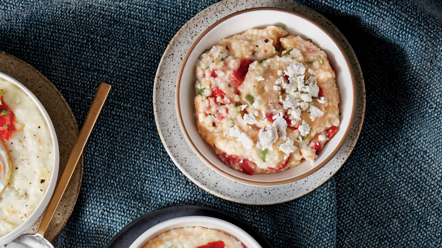 Roasted Tomato and Garlic Grits Recipe