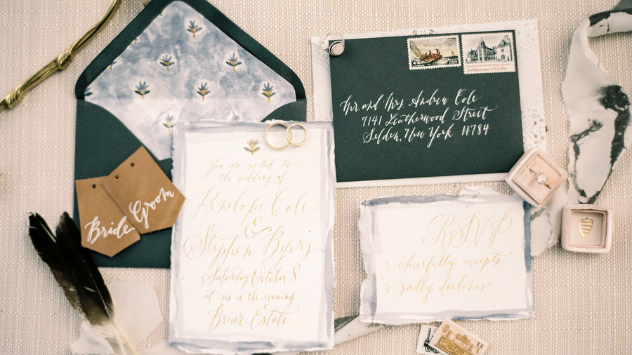 Watercolor Invitation With Custom Details