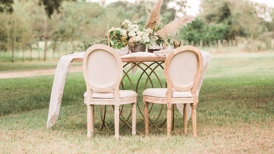 Romantic Wedding Reception Chairs