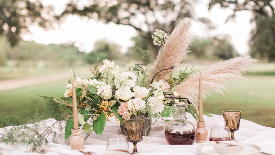 Timeless Centerpiece Teeming with Texture