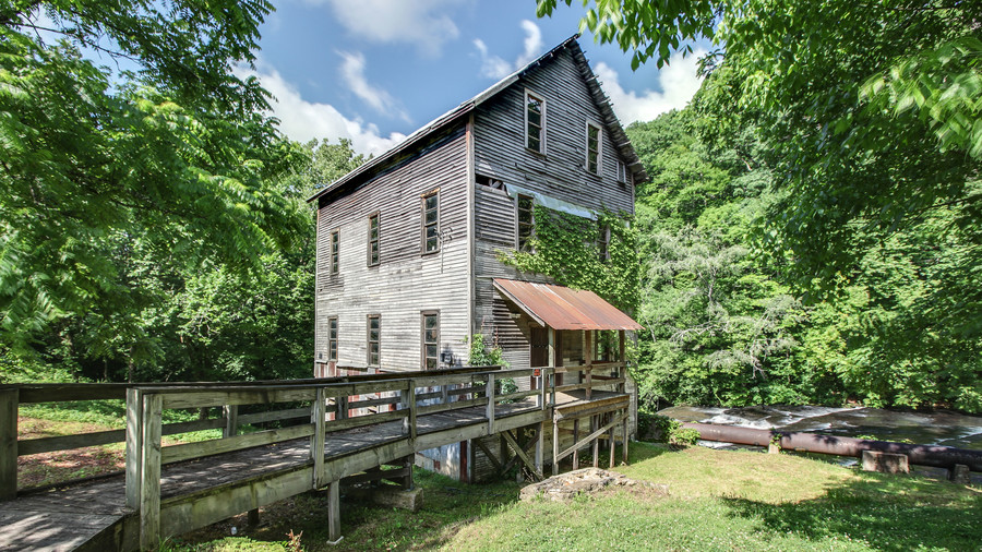 Front of Gristmill Property