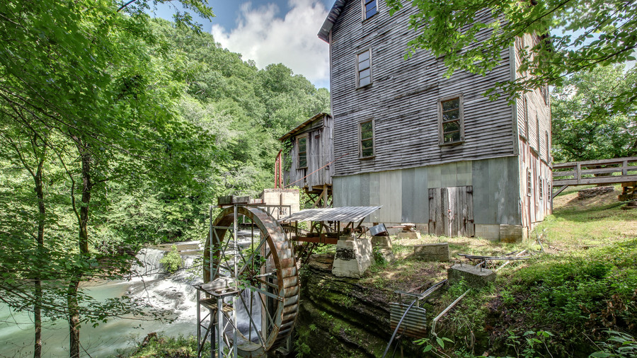 Side of Gristmill Property Fall River, Tennessee