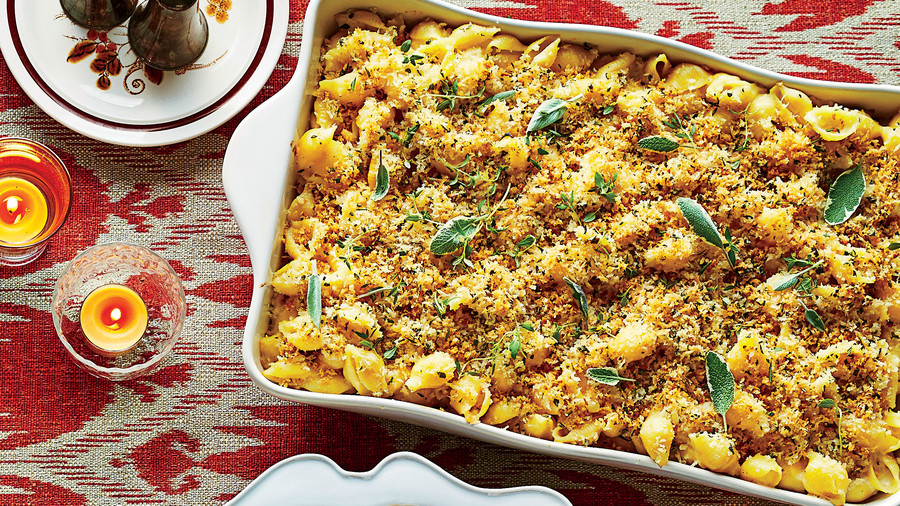 Herbed Breadcrumb-Topped Macaroni and Cheese