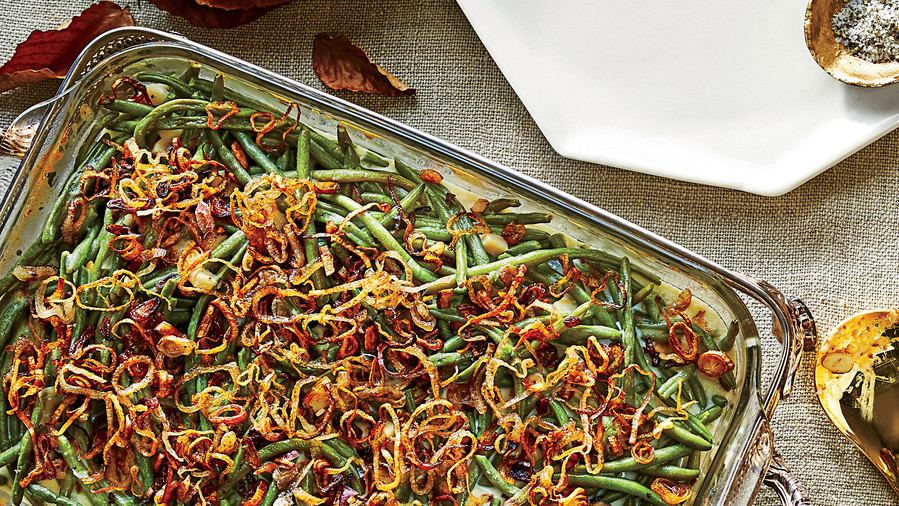 Old-School Green Bean Casserole