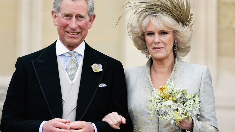 Wedding Bouquet: The Duchess of Cornwall, Camilla Parker Bowles