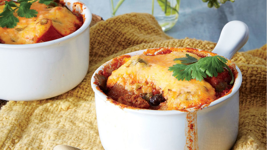 Chicken Chili Pot Pie Recipe
