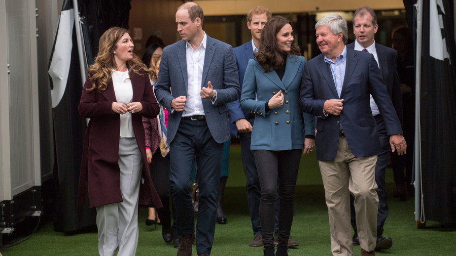 Kate Middleton at the Coach Core Event