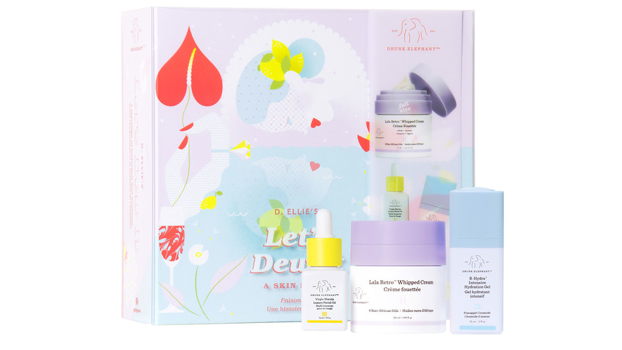 Drunk Elephant Let's Dew It Holiday Kit