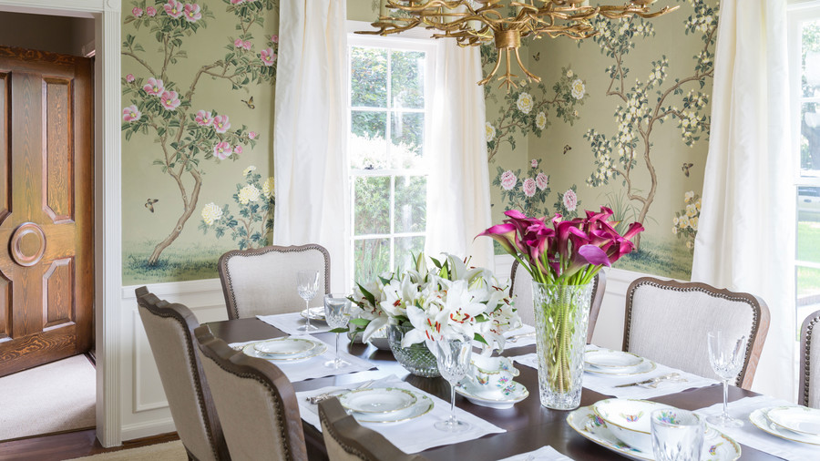 Marie Flanigan B&A Dining Room After