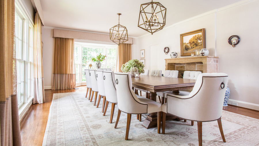 After: A Bright Formal Dining Room