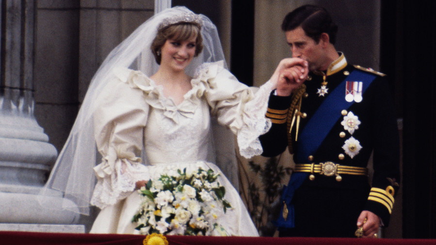 Wedding Bouquet: Princess Diana