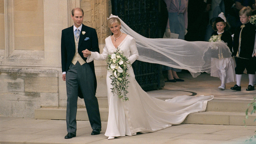 Sophie Countess of Wessex Wedding Bouquet
