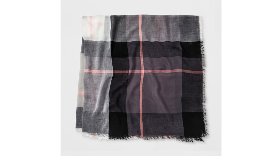 Women's Plaid Scarf – A New Day